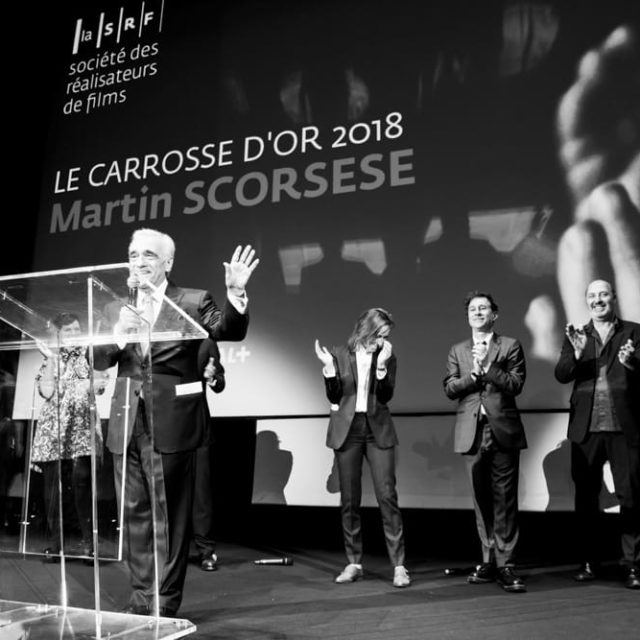 Quinzaine des Réalisateurs 2018 - Remise du Carrosse d'or à Martin Scorsese - © Quinzaine des réalisateurs