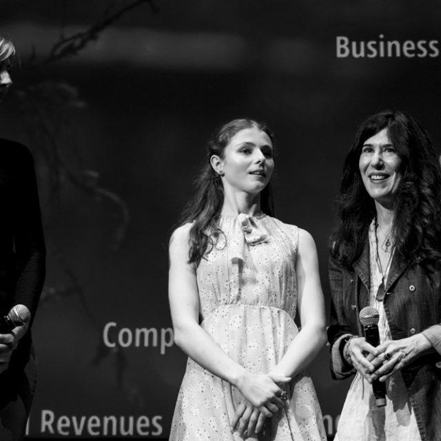 """Quinzaine des Réalisateurs 2018 - Thomasin McKenzie et Debra Granik pour """"Leave No Trace"""" - © Quinzaine des Réalisateurs"""