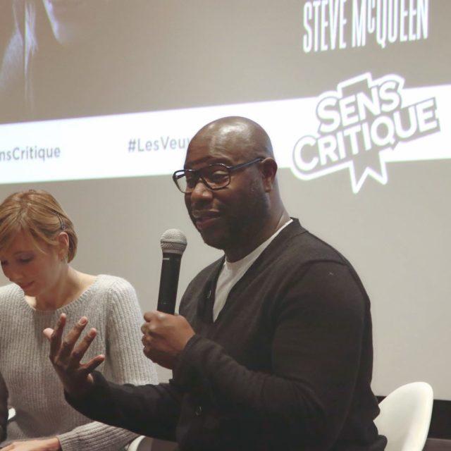 """Cinexpérience Sens Critique """"Les Veuves"""" - Débat avec Steve McQueen - © Sens Critique"""
