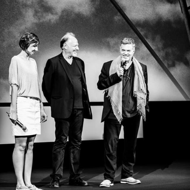 """Quinzaine des Réalisateurs 2017 - """"A l'ouest du Jourdain"""" - Débat avec Amos Gitaï - © Quinzaine des Réalisateurs"""