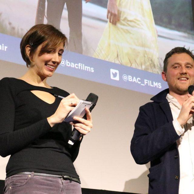 """Cinexpérience Sens Critique """"Jersey Affair"""" - Débat avec Michael Pearce - © Sens Critique"""