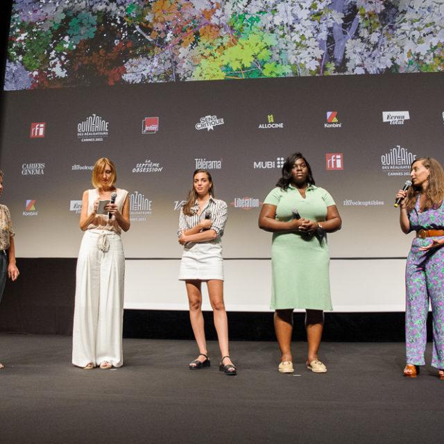 Quinzaine des Réalisateurs 2021 - Q&A Entre les vagues - © Crédit photo : Delphine Pincet
