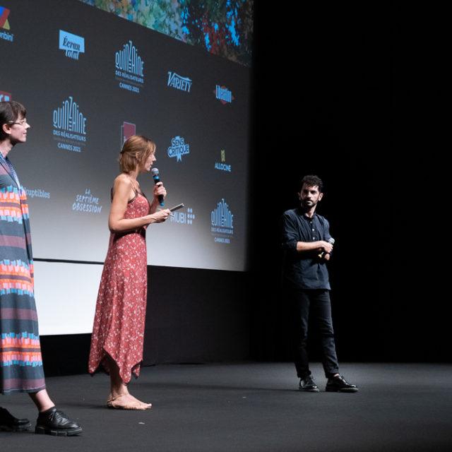 Quinzaine des Réalisateurs 2021 - Q&A Face à la mer - © Crédit photo : Susy Lagrange