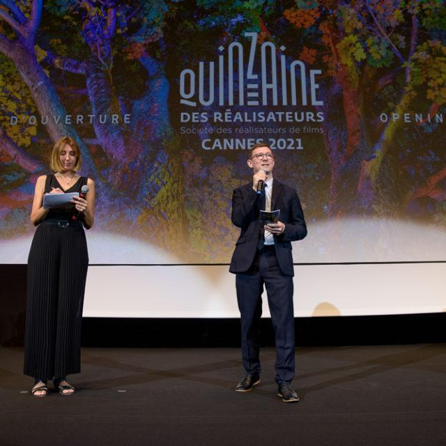 Quinzaine des Réalisateurs 2021 - Ouverture - © Crédit photo : Delphine Pincet
