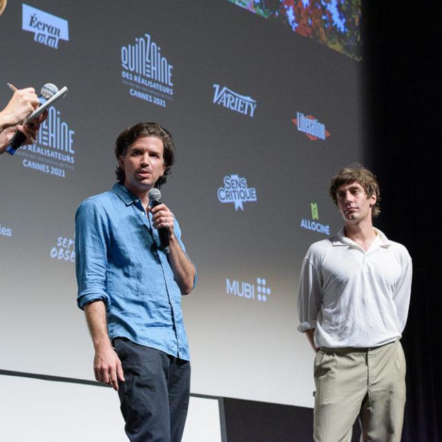 Quinzaine des Réalisateurs 2021 - Q&A Re Granchio - © Crédit photo : Delphine Pincet