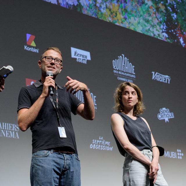Quinzaine des Réalisateurs 2021 - Q&A Retour à Reims - © Crédit photo : Delphine Pincet